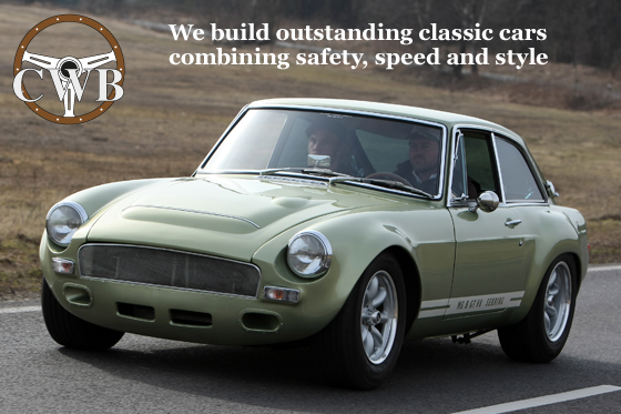 We are the V8 MG B specialists.